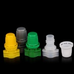 8.2mm single gap plastic spout with cap